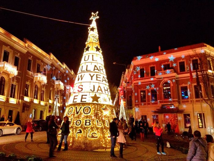 Happy New Year! New Year Tree Happy Mood  Tyrkey  Istanbul Holidays Are Coming! On The Road