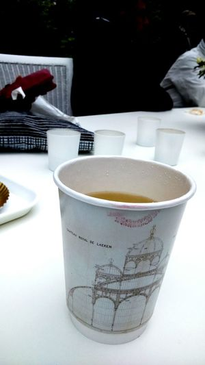 Coffee And Sweets Serres De Laeken (Brussels). Coffee Time with Red Lipstick