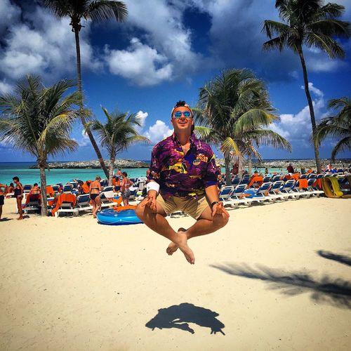 Hello World That's Me Enjoying Life Relaxing Flying Flying High Yoga Beach Beachphotography Beach Life First Eyeem Photo