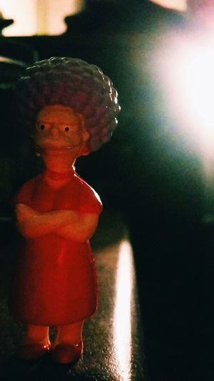The Simpsons Springfield Art And Craft Childhood Creativity Focus On Foreground Male Likeness Representation Toy