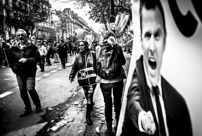CDG Paris The Week On EyeEm Workers Blackandwhite Cdg Demonstration Demonstrations  Labor Law Lifestyles Macron Monochrome Paris Day To Day Reportage Social Gathering Social Issues Streetphoto_bw Streetphotography