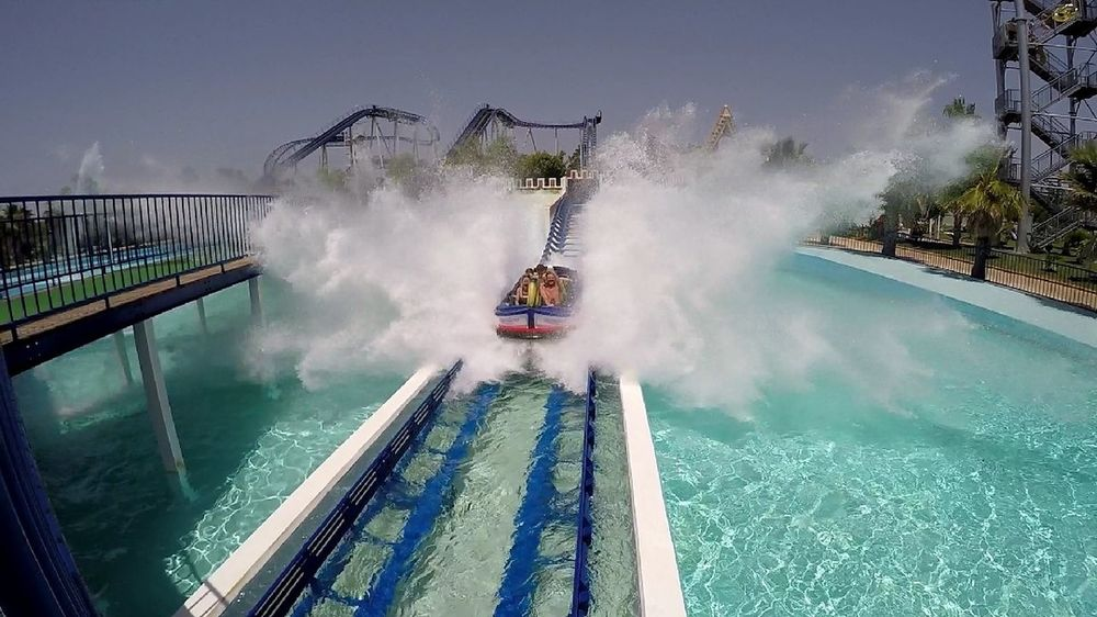 Water Outdoors Water Slide Power In Nature Motion Day Travel Destinations Water Park Waterpark Waterparkfun Long Exposure Swimming Pool Waterfall No People Hot Spring Sky
