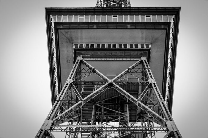 Der Funkturm Berlin Architecture Backgrounds Berlin Blackandwhite Built Structure Close Up Day Design Full Frame Funkturm Grid Indoors  Low Angle View Metal Metallic No People Pattern Radio Tower Steel Urban