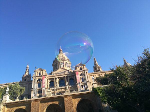 Bubble Travel Destinations Clear Sky Fragility