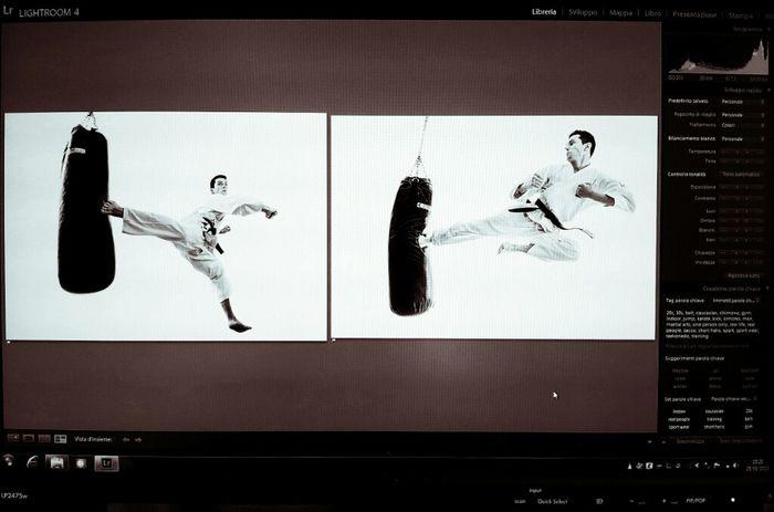 Working Martial Arts Istockphoto