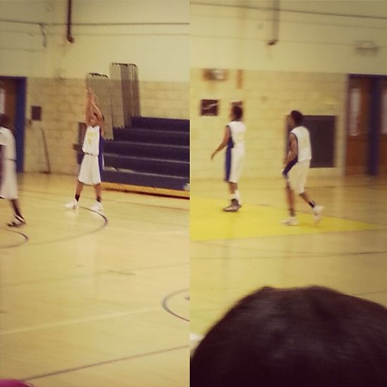 went out to support my baby ^.^ ♥ #8 .