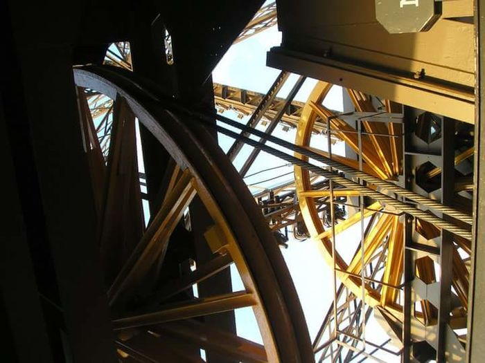 Architecture Built Structure Metal Gold Colored Transportation