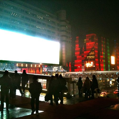 Xi Dan, Beijing Xidan Beijing China Nightlight Colours Cnig