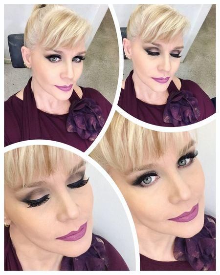 AboutLastNight Working Close-up Makeup Tvhostess Lovemyjob Koisas De Kinha ErikaFaltin💫 Me Blonde Natural Ready For Work