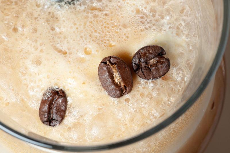coffee seeds on