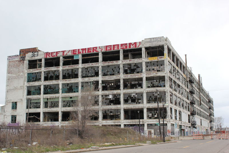 Detroit too. Building Building Exterior City Life Detroit Exterior Façade Office Building Structure Urban Vacant