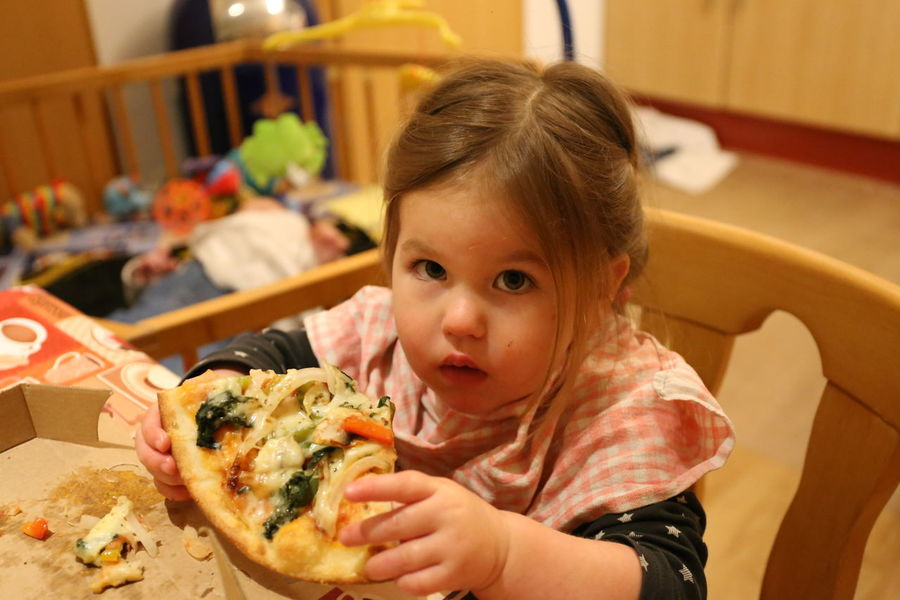 Toddler Girl eating Pizza Child Childhood Portrait One Person Food And Drink Food Indoors  Headshot Girls Women Holding Eating Lifestyles Females Casual Clothing Innocence Pizza Hairstyle Toddler Girl Eating Pizza Toddler Girl Toddler Girl Eating Lunch Toddler Girl Snacking Eating Pizza