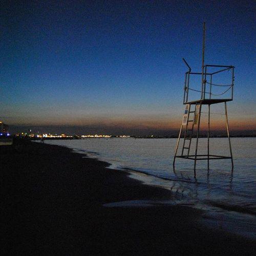 10.30 pm Like4likes Cattolica Sunset Spiaggia Cattolica Lungomare EpicPhoto Altamareabeachvillage Instagood Vistadiriccione Rivieraromagnola