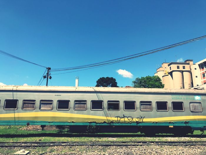 Train Sky Mode Of Transportation Track