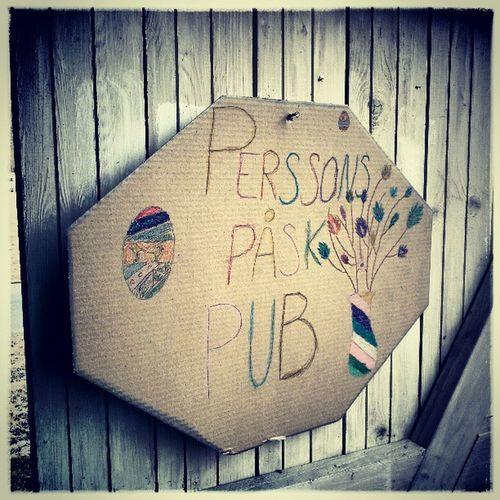 Perssons Påsk Pub PPP Godstemning Bygdepub