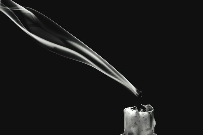 Candle smoke Blackandwhite Low Key Low Key Photography Candle Smoke Nikon D3300 Nikonphotography Studio Shot Black Background Smoke - Physical Structure Motion Close-up