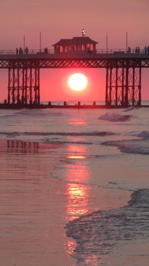 sunset in cromer! no effects at all! Beautiful