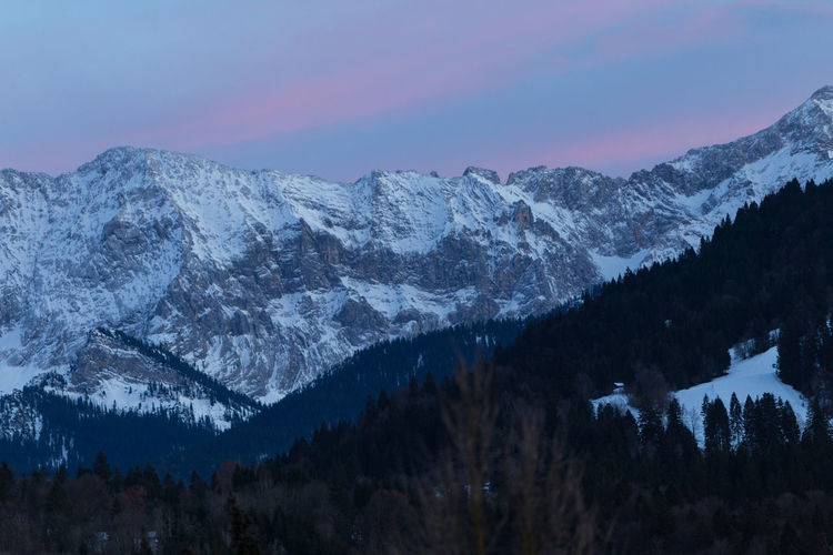 Bavaria Bavarian Landscape Evening Light Frost Garmisch Mountain View Partenkirchen Winter Bavarian Alps Beauty In Nature Clouds And Sky Cold Temperature Evening Sky Forest Forrest Garmisch-partenkirchen Landscape Mountain Mountain Forrest Mountain Range Nature Night No People Outdoors Red Clouds Scenics Sky Snow Snow Covered Snowcapped Mountain Tranquil Scene Tranquility Tree Winter