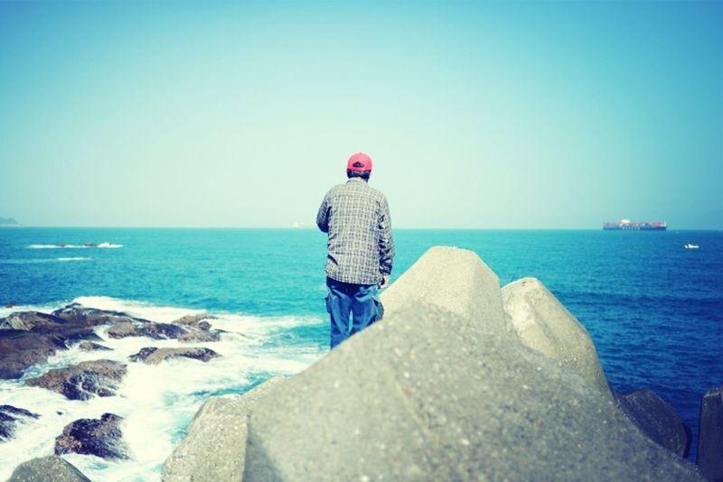People Sea Snapshot Sunshine Travel ASIA Bluesky Nikond600
