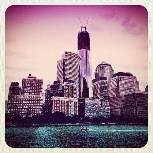 Manhattan with #freedom #tower #wtc #alanisko_usa #deluxe_fx #ebstyles_gf #empirestate #earlybirdlove #hudson #jj #jj_forum #manhattan #nyc #o2travel #skyscraper Deluxe_fx NYC Freedom Tower Skyscraper Hudson Manhattan WTC Jj  Earlybirdlove Jj_forum Empirestate Ebstyles_gf O2travel Alanisko_usa
