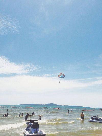 Clouds And Sky Beach Sky Sea As long as a sky are blue