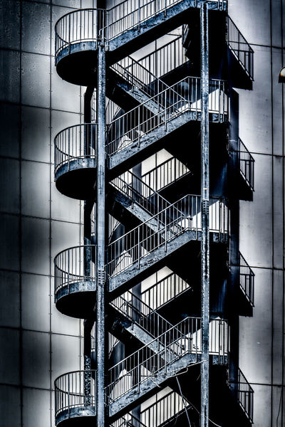 D.N.A - Double Network Architecture Blackandwhite City Double Double Helix HDR Shadow Stairs Urban