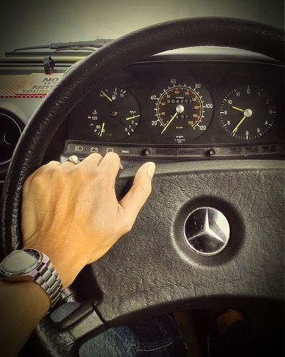 Old is gold. Mercedes Vintage Cars