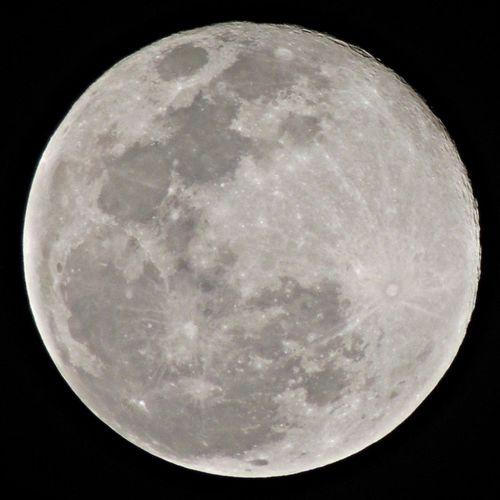 Sky Moon Last Night Supermoon 2013