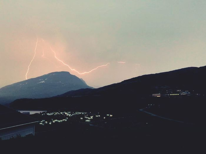 Mountain Beauty In Nature Sky Power In Nature Lightning Outdoors Scenics - Nature First Eyeem Photo