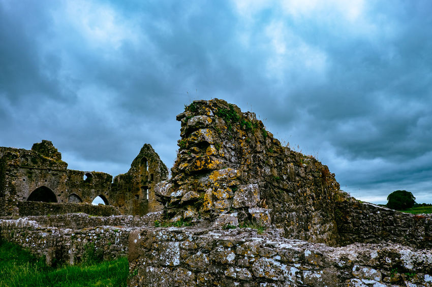 Abbey Hore Abbey Ireland Irish Irland Monastery Rock Of Cashel Ruins Rural