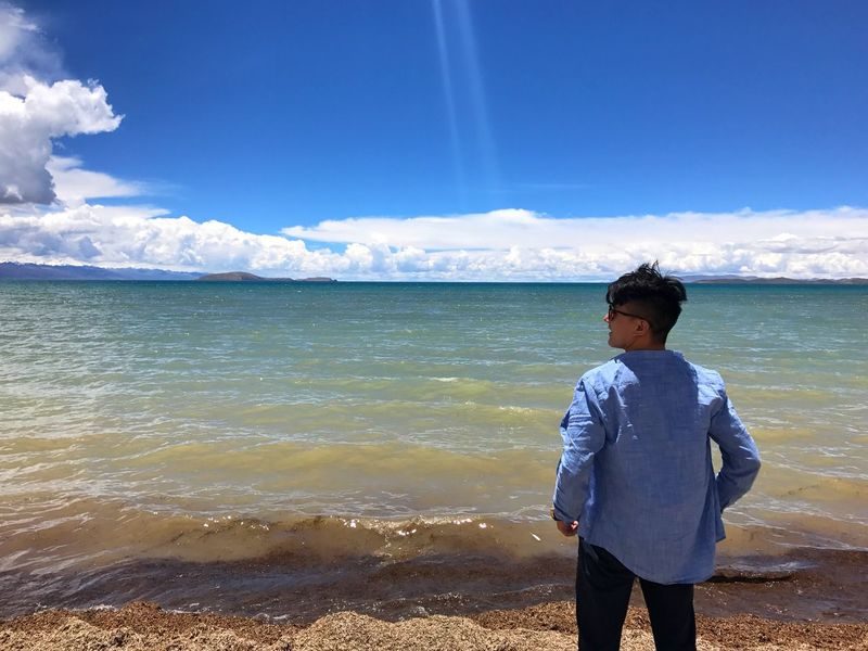 That's Me Sky Sea Water Nature