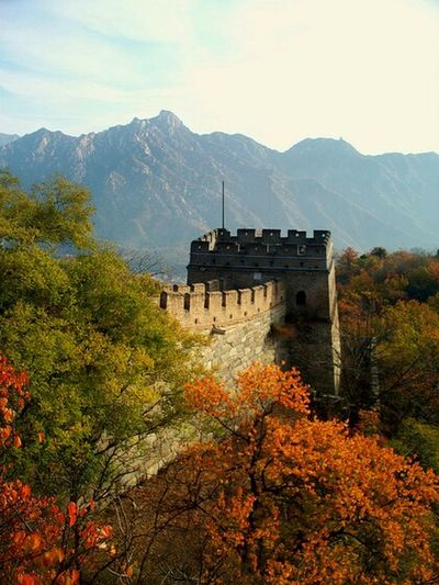 Great Wall of China. Great Wall Of China China Beauty China In My Eyes China History Great Wall Of China Tower World Heritage Site