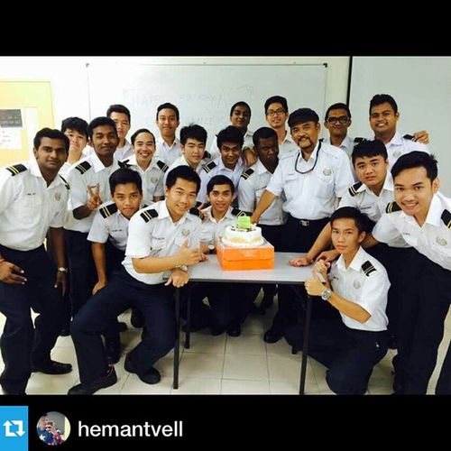 Happy Birthday Captain Zulkefli!Among the pioneer Captain in Malaysia Maritime Industry. Great man within vast experiences and contributions to shipping industry for the past 40years. Ahoy sailor! Repost @hemantvell with @repostapp.