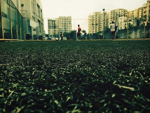 Turf Football Beatiful Day Look Up And Thrive