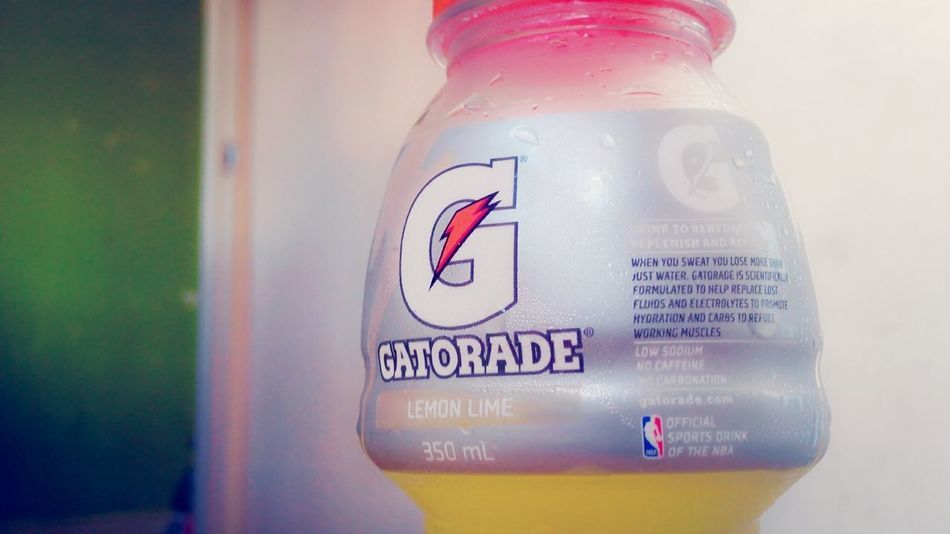 let's drink some :> Drink Gatorade