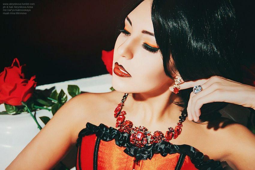 Girl Beaty Style Fashion Crimea Boussanna Makeup Photography Photo фэшн