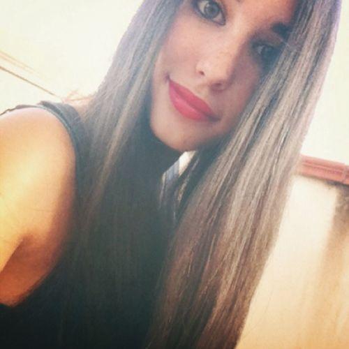 Summer ☀ Long Hair Red Lips Beauty ❤