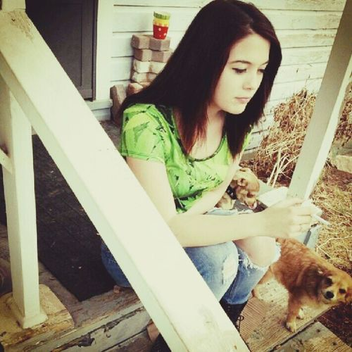 Dogs Cute Pets Weed Shirt Old Pic ♡