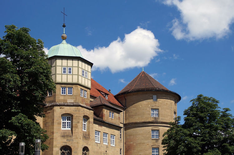 Architecture Autumn Castle Check This Out Chessnut Fortress Germany History Knight  Old Castle Palace Resicendital Palace Stuttgart Tourism Tourism Destination Tower
