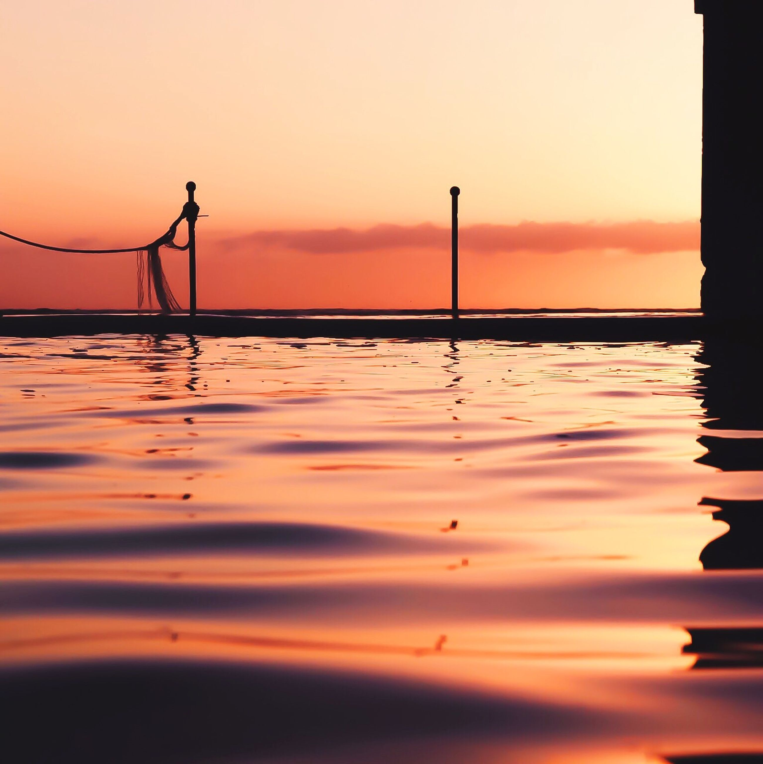 sunset, water, reflection, sea, beauty in nature, nature, no people, tranquil scene, scenics, outdoors, sky, tranquility, day