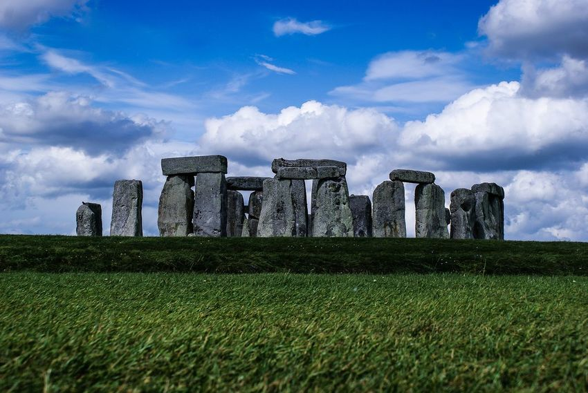 Stonehenge Memorial Stonehenge England Silence Tourism Cultures History Vacations Ancient Civilization No People Landscape Travel Architecture Travel Destinations Wonderful Day Moments Wonderful Nikon Nikonphotography Peace And Quiet Life Is Beautiful Life Moments Of Life