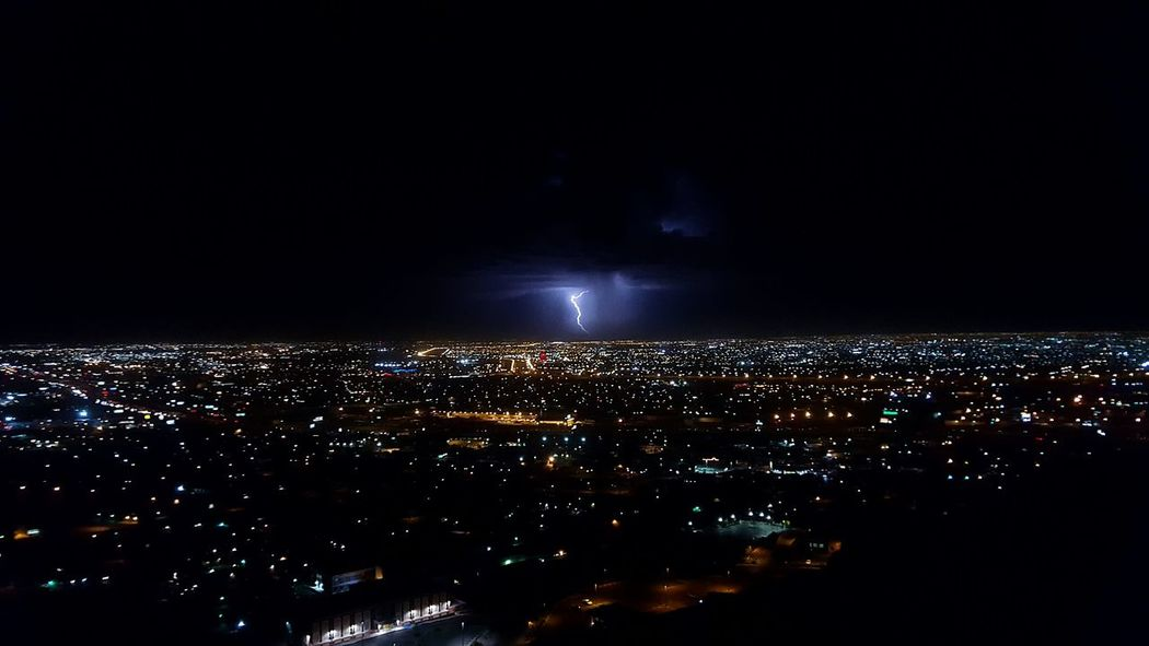 Darkness Night Dark Photography City Citylights Mirador Panorama Rayo Rain First Eyeem Photo Vscocam VSCO Flash City Life