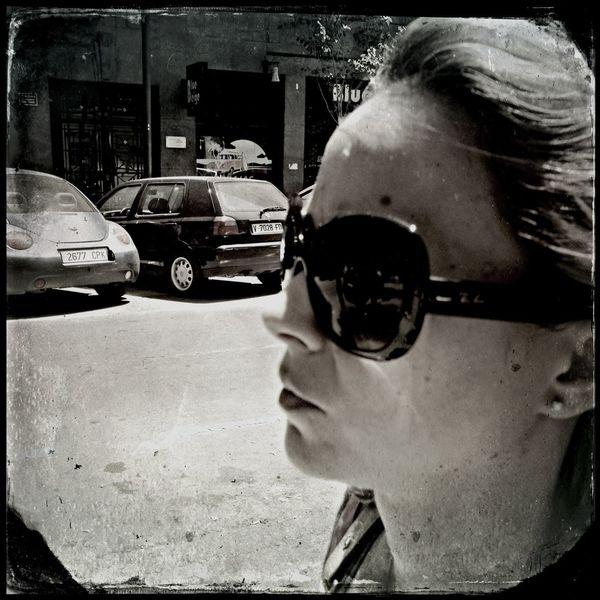 She Streetphotography Hipstamatic Street Portrait