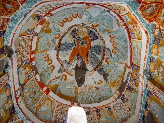 Iamonmywaytoeverywhere Traveling Cappadocia Turkey Ihlaravadisi Church Ağaçaltıchurch İhlara Valley Religion Fresco