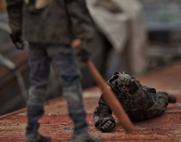Let the dead bury the dead ThreeA Worldof3a Toy Photography