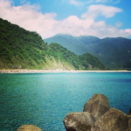 So Beautiful !☀️⛅️ 東澳 粉鳥林 Taiwan 好山好水 度假