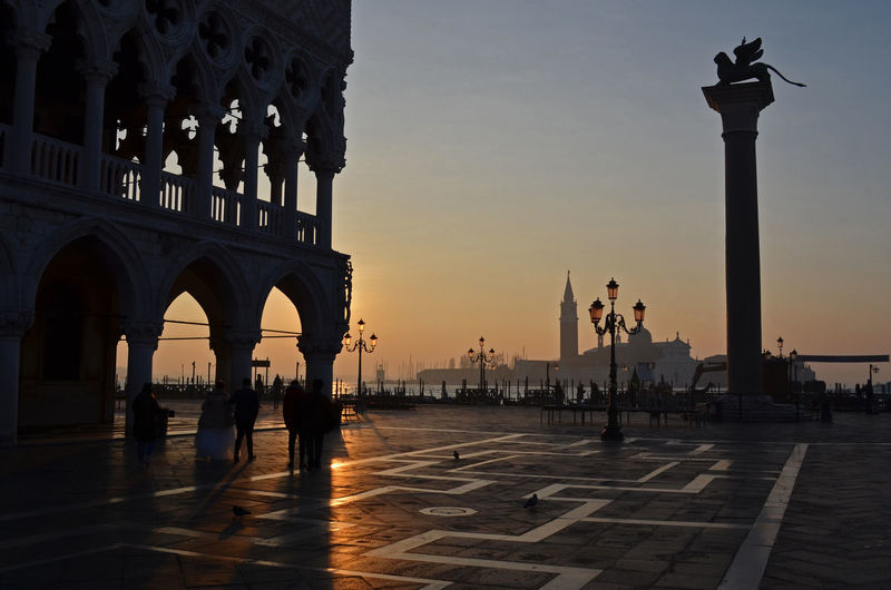Atmosphere Atmospheric Mood Famous Place Morning Light Palazzo Ducale Piazza San Marco San Giorgio Maggiore Scenics Sunrise Travel Destination Travel Destinations Travel Photography Venezia Venice The City Light Your Ticket To Europe