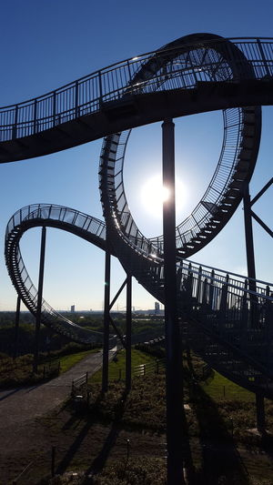 Ruhrgebiet Ruhrpott Ruhrpottromantik Tiger And Turtle – Magic Mountain Architecture Arts Culture And Entertainment Bridge - Man Made Structure Built Structure Clear Sky Connection Day Low Angle View Nature No People Outdoors Shadow Sky Tiger And Turtle Travel Destinations