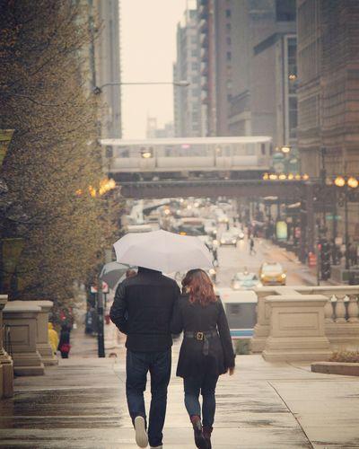 Chicago Chicago Illinois Chicagoprimeshots Chicago Streets Chicago ♥ Chicago Loop Chicagoshots Chicago Life Rainy Days Rain Beautiful