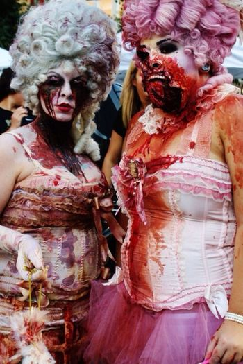 Zombie Festival 2012(I think) ZZombiemMake UpsSpecial Effects MakeupmMarie Antoinette